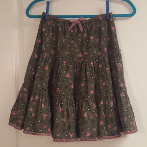 Mini Boden Corduroy Skirt